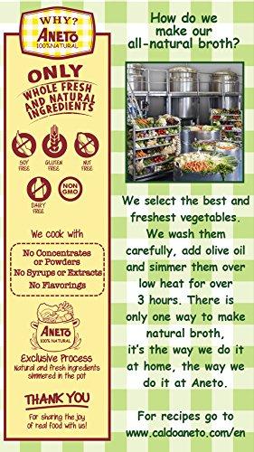 Aneto Caldo de Verduras, 1000 ml