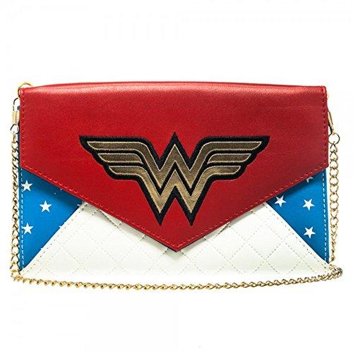 A portafoglio, motivo: Wonder Woman DC Comics, motivo con Anime gw1xdxdco-Collana da donna