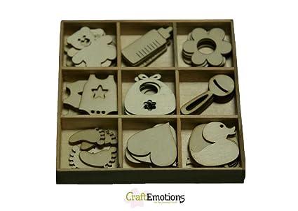 Decorazioni In Legno Per Bambini : Decorazioni in legno a tema baby bambini nascita ornamenti per