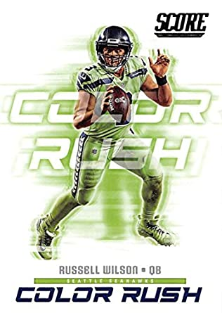 lowest price a0201 8a64d Amazon.com: 2018 Score Color Rush #9 Russell Wilson Seattle ...