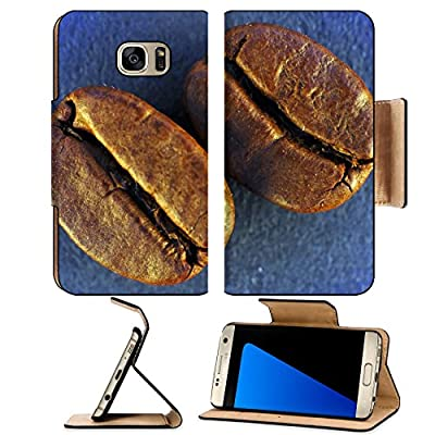 Luxlady Premium Samsung Galaxy S7 EDGE Flip Pu Leather Wallet Case IMAGE ID 3680759 A studio shot series related to coffee roasted beans with various cups and different backgrounds