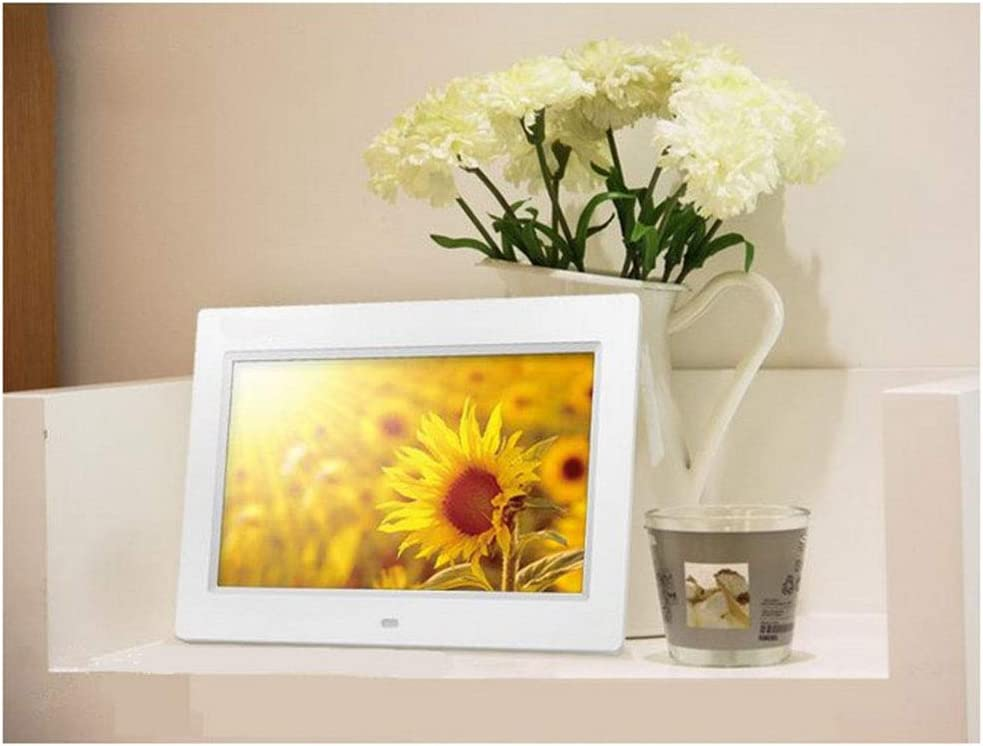 Frame with LED Screen 1024600 High Resolution Picture Frame with Photo Music Video Player /& Calendar Function,Black Digital 10 Inch Photo Frame