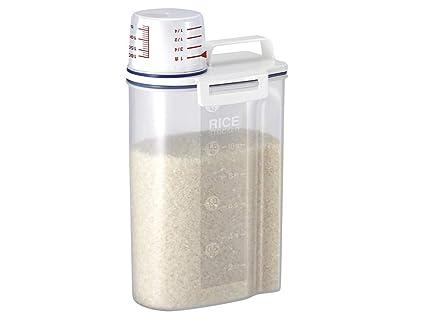 Ordinaire Rice Bin, Rice Storage Bin 2KG Portable Food Grain Storage Box Rice Storage  Box Dispenser