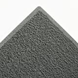 Dirt Stop Scraper Mat, Polypropylene, 48 x 72, Slate Gray, Sold as 1 Each
