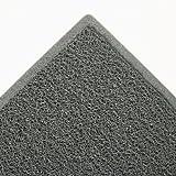 Dirt Stop Scraper Mat, Polypropylene, 48 x 72, Slate Gray, Sold as 1 Each