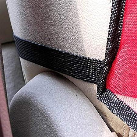 R/ésistant Aux Rayures pour Si/ège Copilot Rouge 100x50CM Housse de Si/ège de Voiture Chien Protecteur Arri/ère de Voiture Si/ège de S/écurit/é pour Animaux de Compagnie ALLOMN Tapis de Voiture