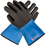 Grill Armor Revolutionary Oven Gloves – The Only Heat Resistant Gloves That Are Both EN407 Certified Up To 932°F & 100% Waterproof – BBQ Gloves For Cooking, Grilling, Baking
