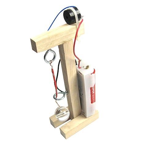 MagiDeal DIY Ensamblaje Alarmas Terremoto Modelo Juguete de ...