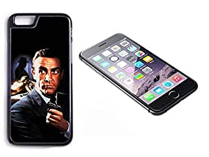 iPhone 6 Plus Black Plastic Hard Case with High Gloss Printed Insert James Bond