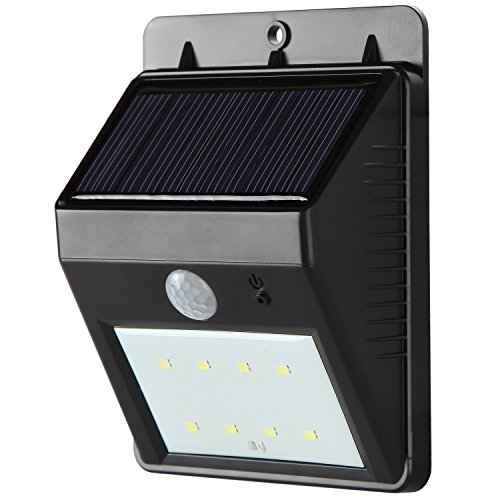 Brightech - LED Solar Motion Sensor Light - Waterproof, All-Weather Security - (Necessary Wiring)