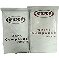 Morde White and Dark Chocolate Compound, 500gm - Combo Pack of 2