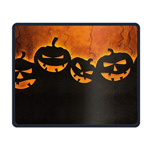 Halloween Pumpkins Customized Non-Slip Rubber Mousepad Gaming Mouse Pad - 7.08 (L£x 8.66 (W) inch ()