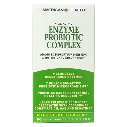 Enzyme Probiotic Complex American Health Products 90 VCaps For Sale
