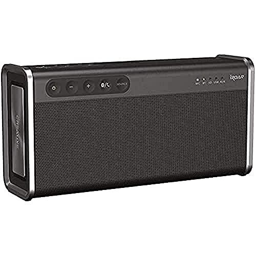 Creative iROAR Go – krachtige, weerbestendige 5-driver Bluetooth luidspreker, zwart