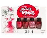 opi mini - Disney Couture De Minnie Runway Minnies Mini 1 Set 4 x 1/8 oz. - 1 Set.