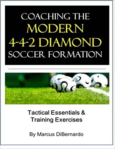 Book Coaching The Modern 4-4-2 Diamond Soccer Formation: Tactics & Training Exercises