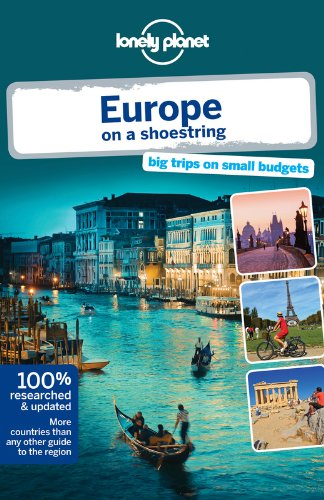 Infinity Timing Cover - Lonely Planet Europe on a shoestring (Travel Guide)