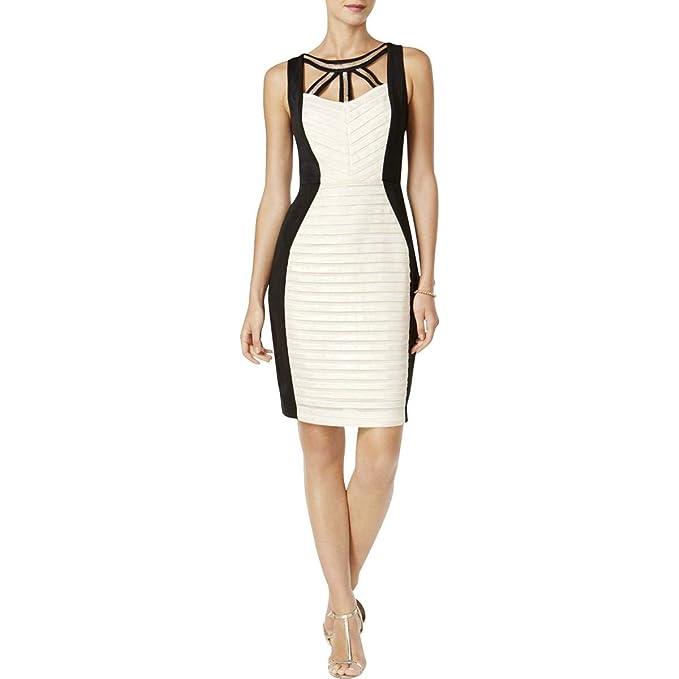 2914da2f28144e Sangria Womens Sleeveless Mini Bodycon Dress  Amazon.ca  Clothing    Accessories