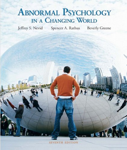 Abnormal Psychology in a Changing World Value Package (includes Speaking Out CD ROM-Standalone for Abnormal Psychology i
