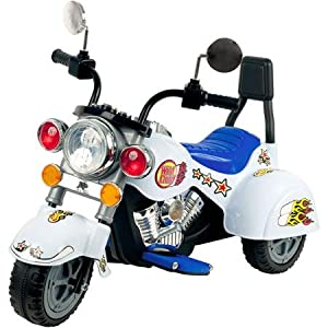 Rockin-Rollers-White-Knight-3-Wheel-Motorcycle-6-Volt-Battery-Powered-Ride-On
