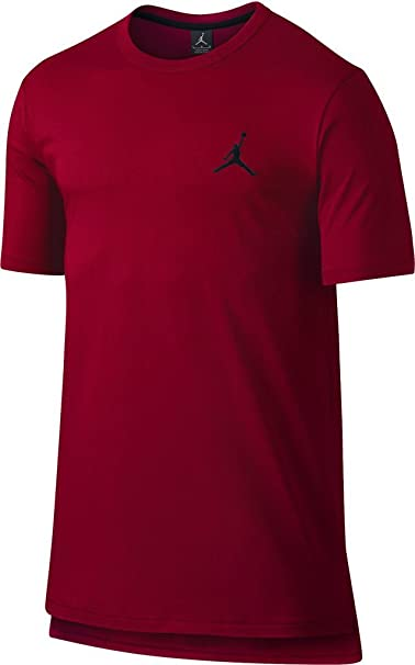 1fd80a85860b Men s Jordan Core Long T-Shirt (749475-687) - GYM RED BLACK at ...