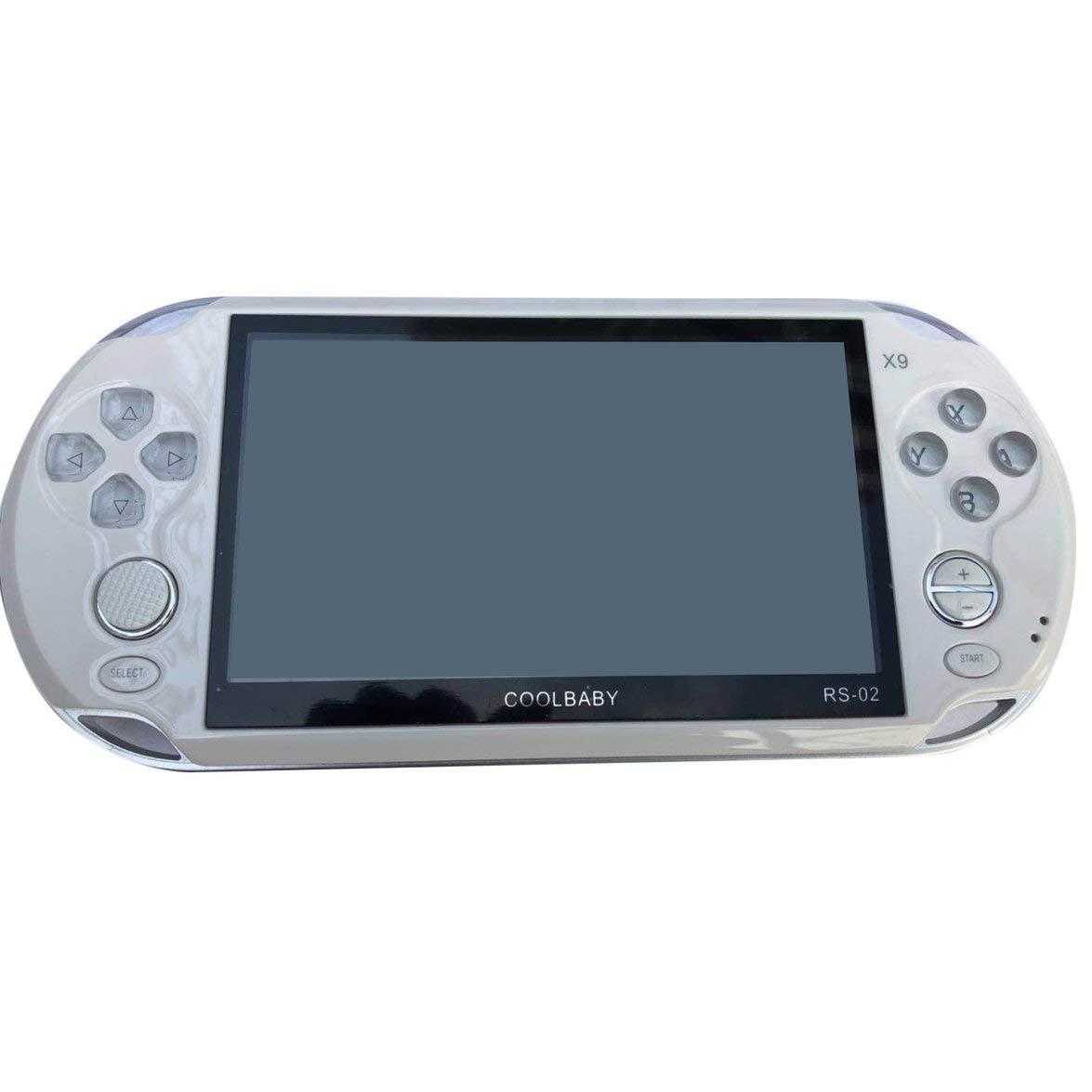Pandamama Portable Size 5.0 Inch Large Screen 8GB Game Console Handheld Game Player MP3 Player Gamepad with Classic Games by Pandamama (Image #1)