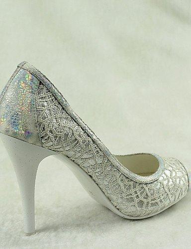 ShangYi Schuh Damen - Hochzeitsschuhe - High Absätze / Spitzschuh - High - Heels - Hochzeit / Kleid / Party & Festivität - Weiß  4in 3bfc9d
