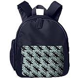 Daddy's Wingman Funny Teenager Zipper Super Bookbag Travel Daypack Backpack