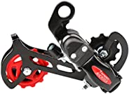 Road Mountain Bike Bicycle Rear Derailleur Components Compatible 18/21 Speed
