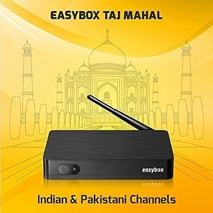 Easybox Taj Mahal Reliable iptv Indian Pakistani TV Box Live