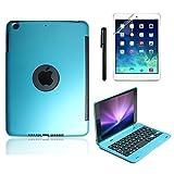 Best Boriyuan Wireless Keyboard Ipads - BoriYuan Slim iPad Mini Case with Keyboard Aluminium Review