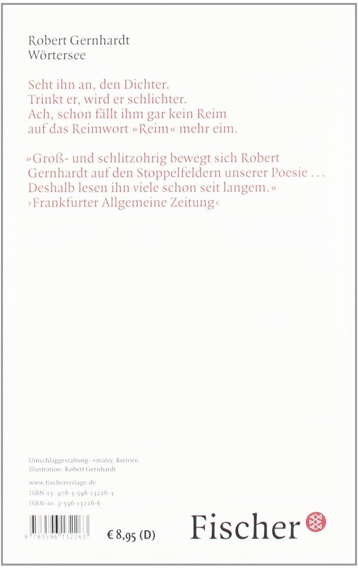 Wörtersee Robert Gernhardt 9783596132263 Amazoncom Books