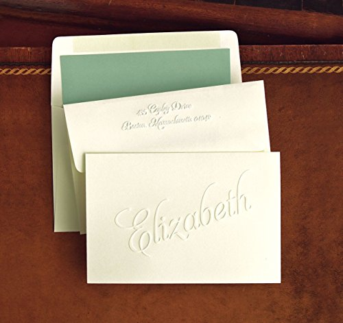 Classic Embossed Fold Notes - 2793
