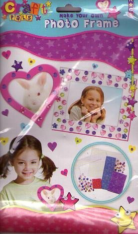 Make Your Own Photo Frame Craft Pack - Ideal Fun For Kids: Amazon.co ...