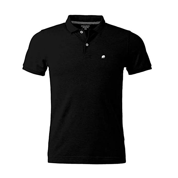 5779cb11e781 Banana Republic Factory Men s Classic Fit Polo Shirt Elephant Logo Short  Sleeve at Amazon Men s Clothing store