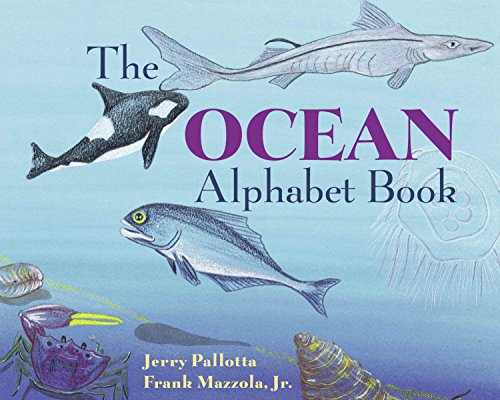 The Ocean Alphabet Book (Jerry Pallottas Alphabet Books)