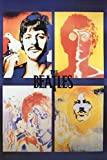 The Beatles- 4 Faces Poster 24 x 36in