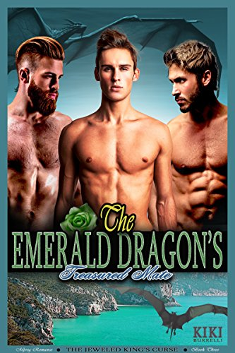 The Emerald Dragon's Treasured Mate: The Jeweled King's Curse Mpreg Romance Book Three (English Edition)