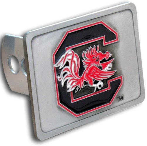 South Carolina Fighting Gamecocks 3-D Trailer Hitch Cover - NCAA College Athletics Fan Shop Sports Team Merchandise