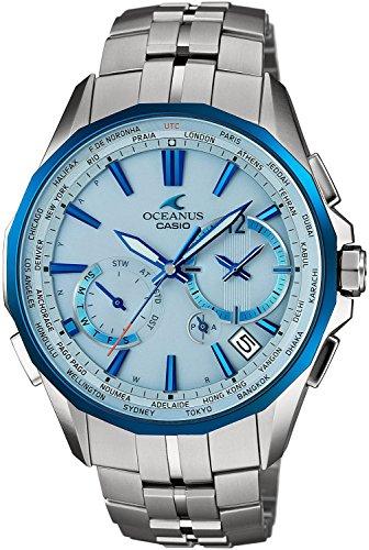 CASIO watch OCEANUS Manta world six stations corresponding Solar radio OCW-S3400D-2AJF Men