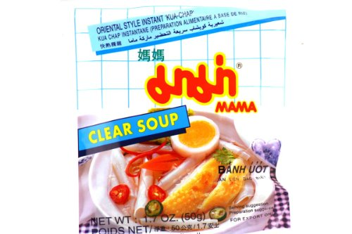 Oriental Style Instant Chand Noodle Clear Soup (Kua-chap) - 1.7oz (Pack of 15)