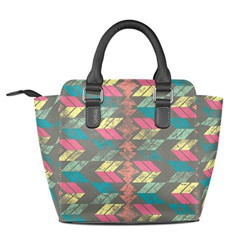 COOSUN - Bolso de asas para mujer multicolor multicolor M Multicolor#3