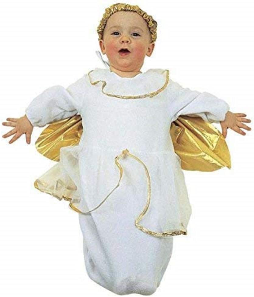 WIDMANN Costume - Angel - 0/9 Meses. Disfraz - Carnaval ...