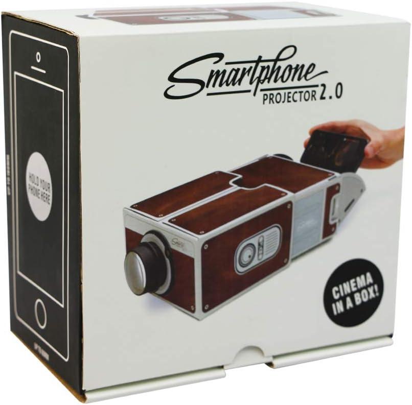 Jiay Proyector Portátil de Cartón para Smartphone Proyector de ...