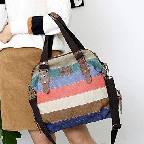 Bolso Bolsos Multicolor Shopper Mano Grande Colores Varios Bandolera Hombro Viaje Desigual Logobeing de de de Bolsos Mujer wUtftq