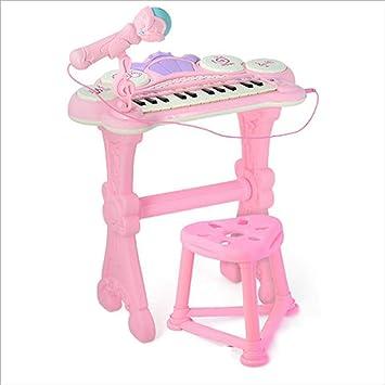 Piano electrónico de Juguete para niños 1-3-6 años Regalo de ...
