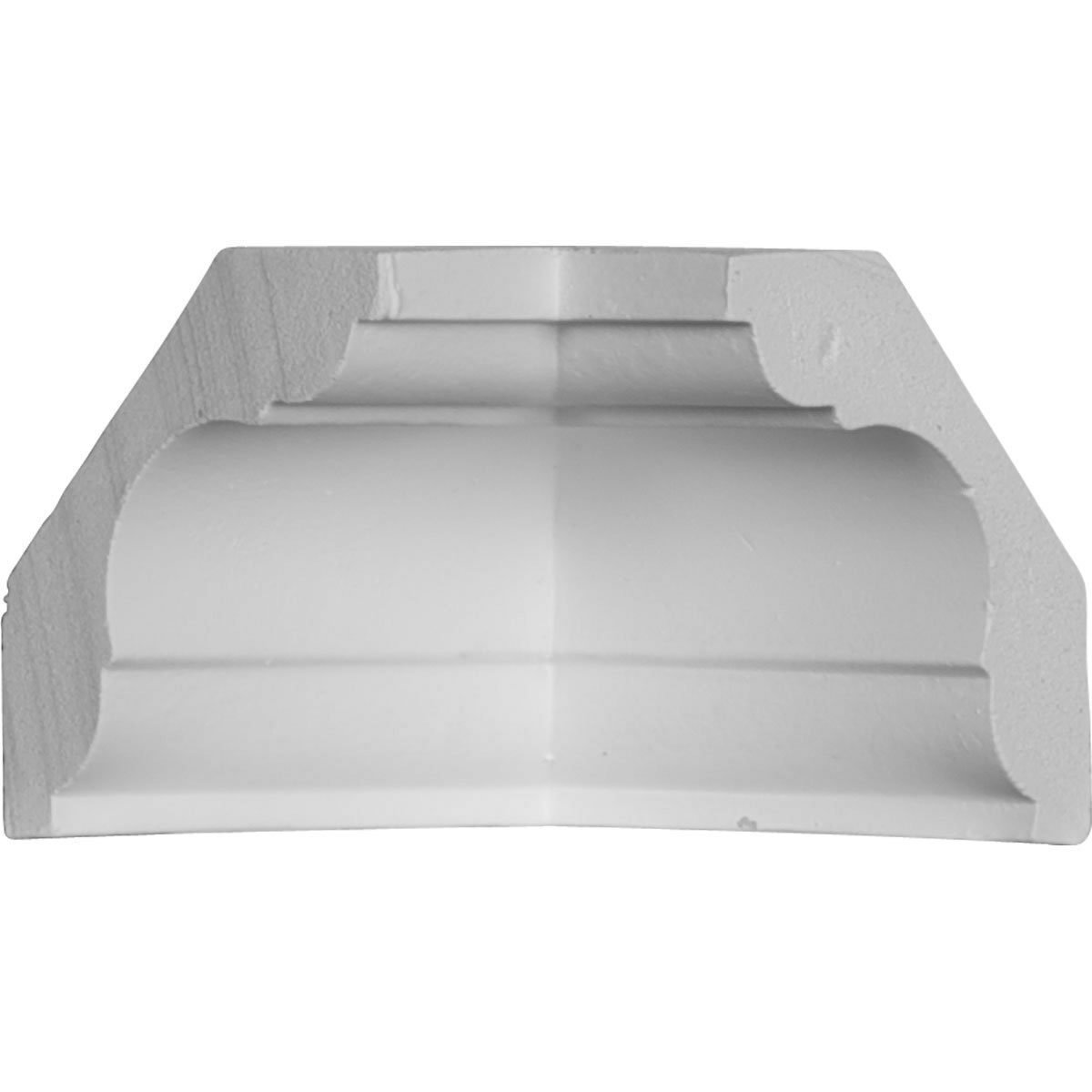 2 1//4H x 2 1//4P x 3 1//4F x 94 1//2L Jefferson Traditional Smooth Crown Moulding 2-Pack
