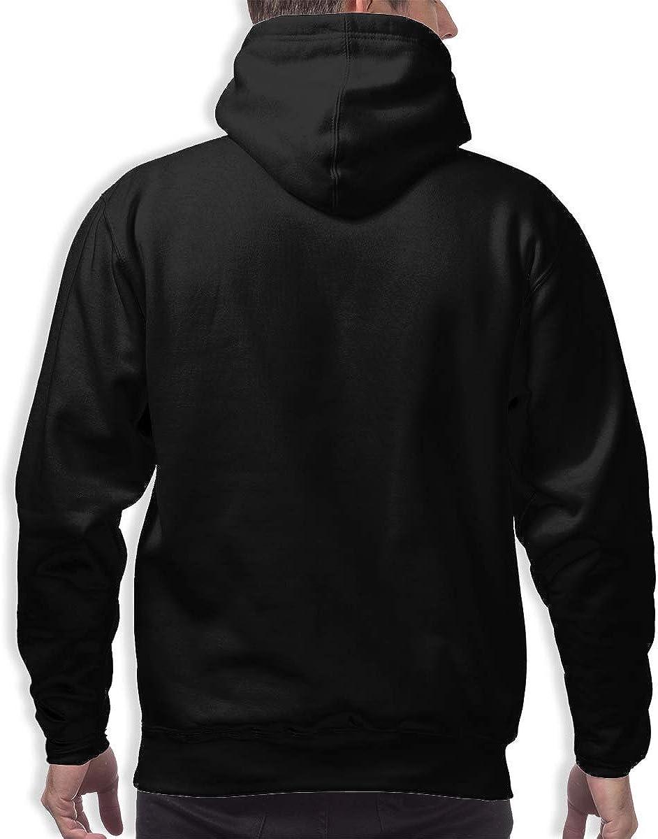 TWOIYIN Mens Hockey Team Logo Casual Hoodie Youthful Personality Pullover Long Sleeve Sweatshirts