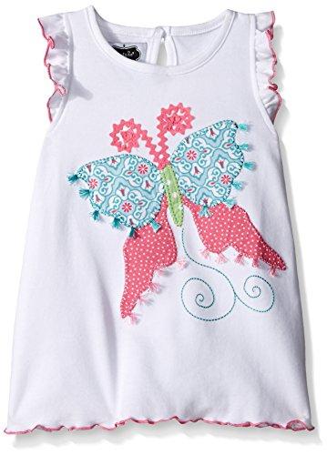 Mud Pie Little Girls Butterfly Tunic, Multi, Medium