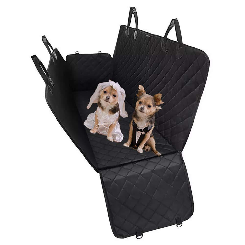 Lightweight Fabric pet car pad, Dog Bag, Special car mat, Anti-Dirty pad, Black, 130  45  55cm.